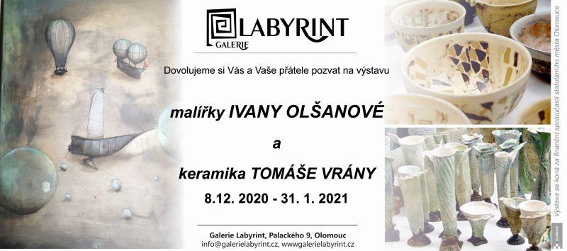 Malířka Ivana Olšanová a keramik Tomáš Vrána