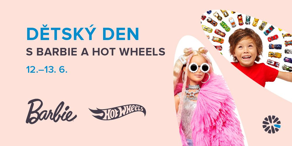 Dětský den s Barbie a Hot Wheels