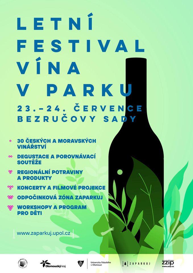Letní festival vína v parku