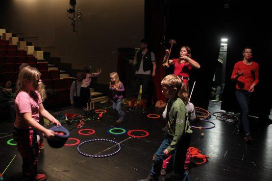 Žongléřská show