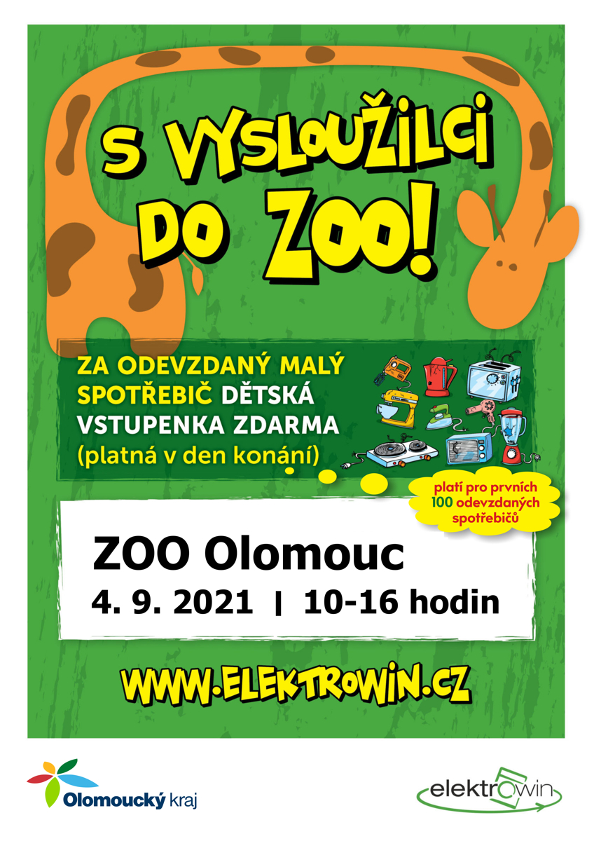 S vysloužilci zdarma do zoo