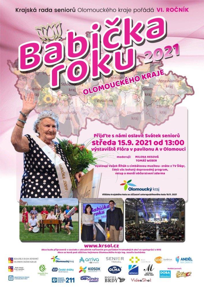 Babička roku 2021 Olomouckého kraje