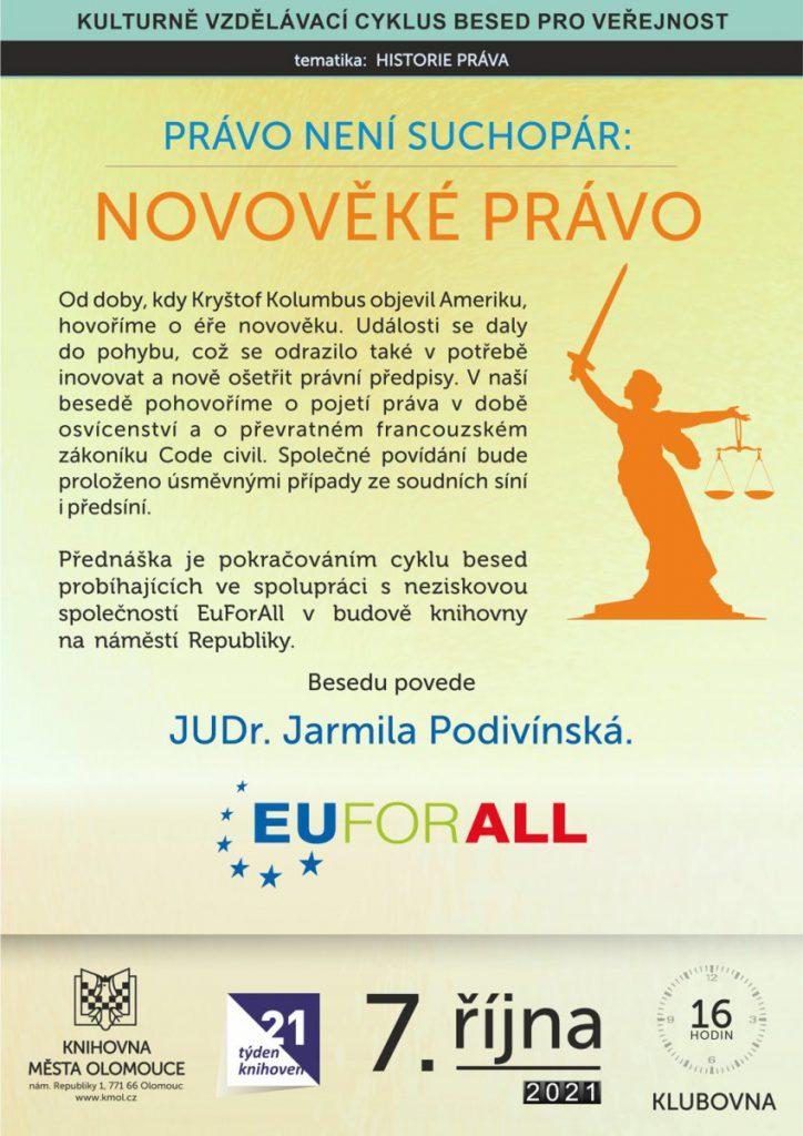 Právo není suchopár – Novověké právo