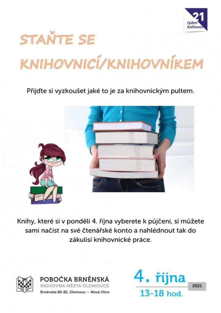 Staňte se knihovnicí/knihovníkem