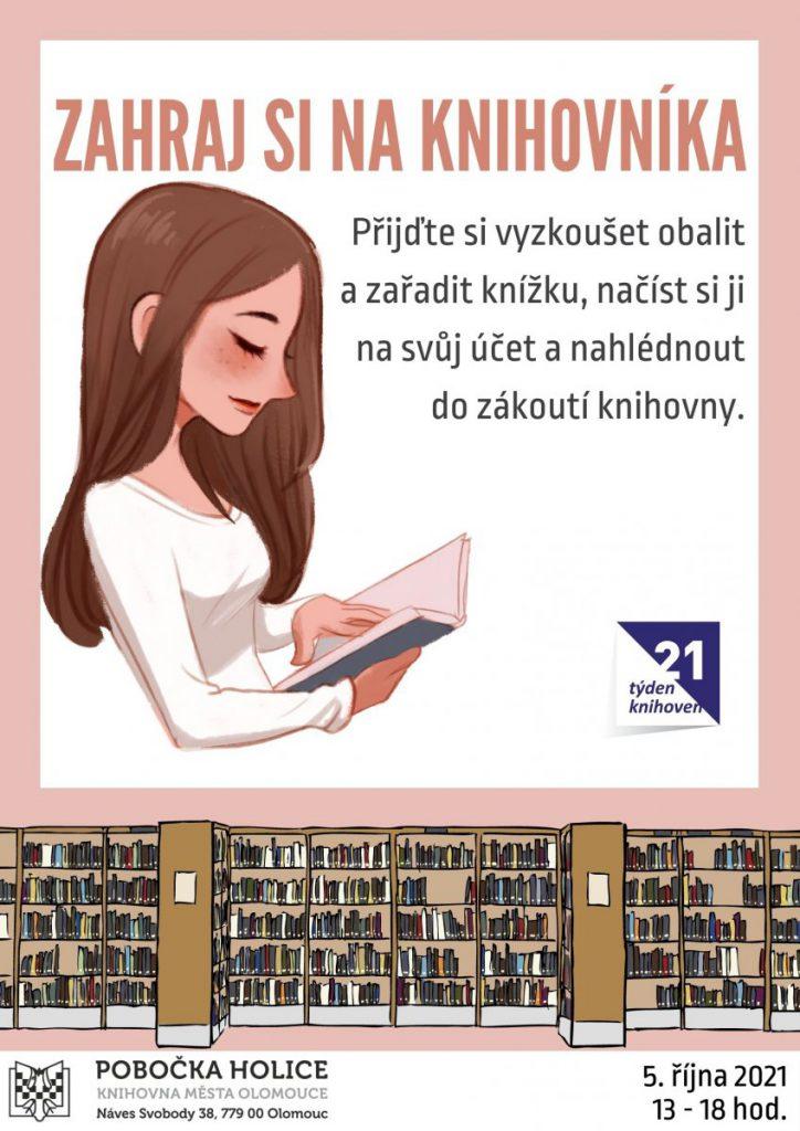 Zahraj si na knihovníka