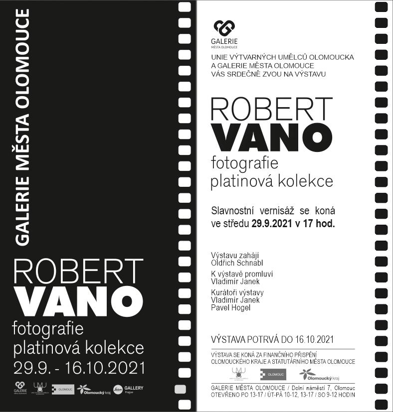 Robert Vano, fotografie – platinová kolekce