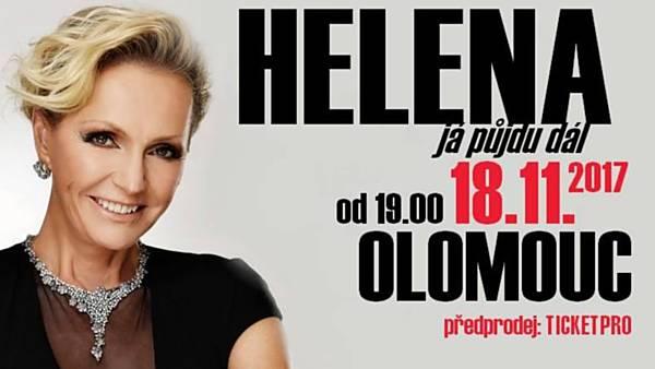 Helena Vondráčková - Já půjdu dál - narozeninový koncert Olomouc