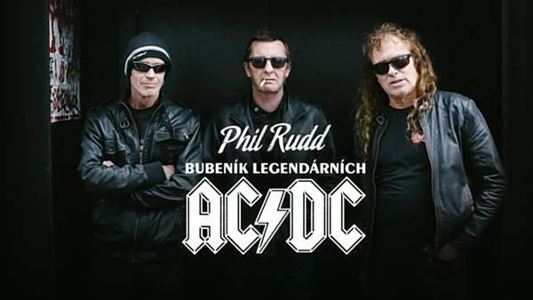 PHILL RUDD bubeník AC/DC
