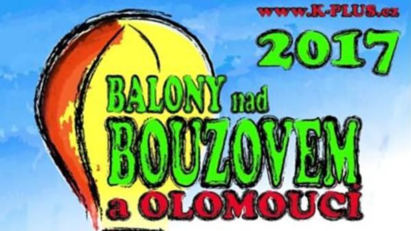 Balóny nad Bouzovem a Olomoucí 2017