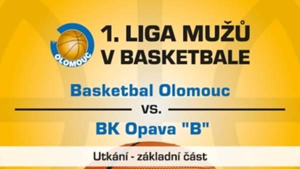 Basketbal Olomouc X BK Opava
