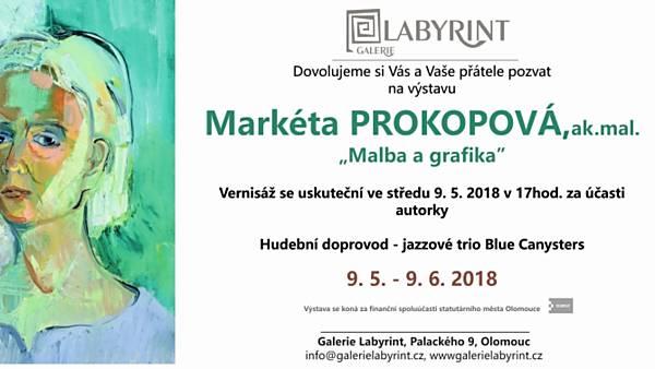 Markéta Prokopová: malba a grafika