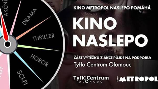 Kino naslepo pro Tyflocentrum Olomouc