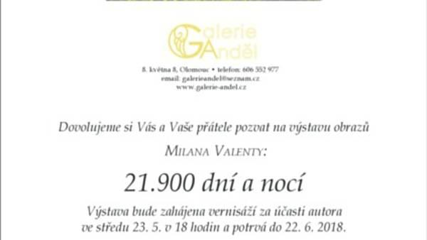 Milan Valenta: 21.900 dní a nocí