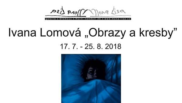 Ivana Lomová: Obrazy a kresby