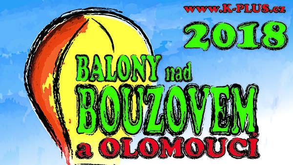 Balony nad Bouzovem a Olomoucí