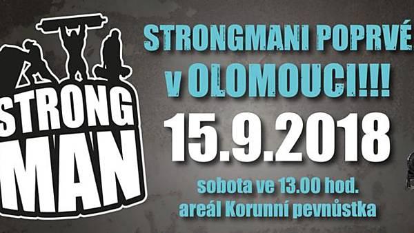 Strongman Olomouc 2018