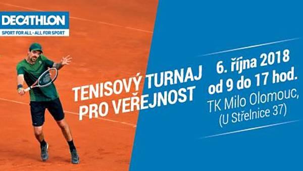 Tenisový turnaj pro veřejnost