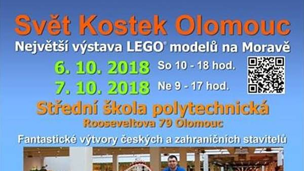 LEGO výstava Svět kostek Olomouc 2018