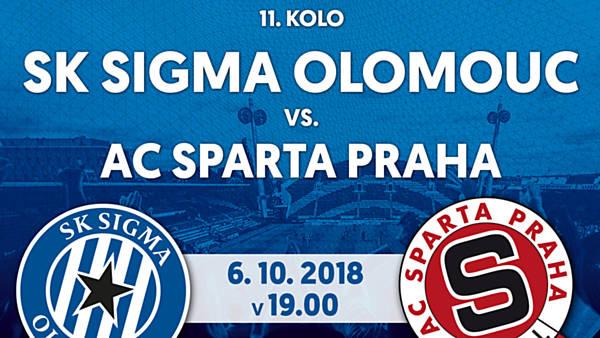 SK Sigma Olomouc vs. AC Sparta Praha