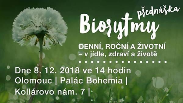 Přednáška Biorytmy denní, roční a životní