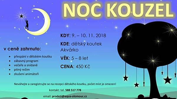NOC kouzel pro děti