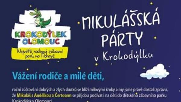 Mikulášská párty v Krokodýlku