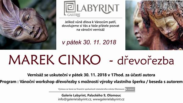 Marek Cinko - dřevořezba