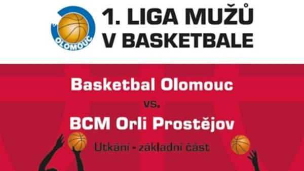 Basketbal Olomouc X BCM Orli Prostějov