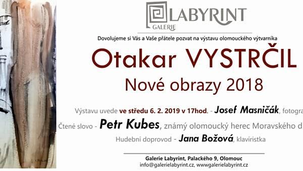 Otakar Vystrčil: Nové obrazy