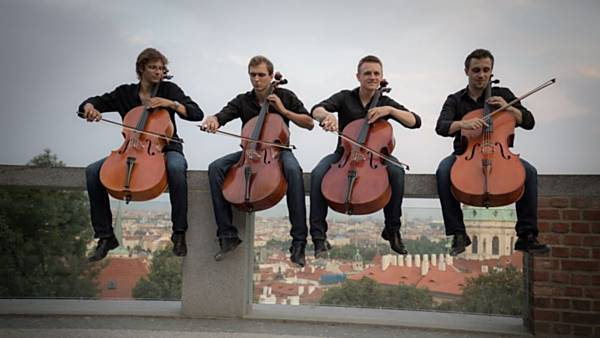 Prague Cello Quartet - koncert HAPPY Tour