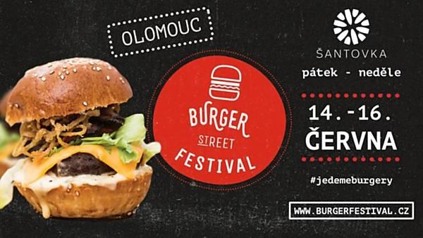 Burger Street Festival Olomouc