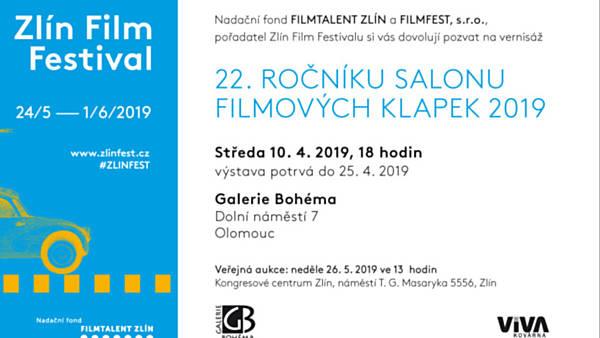 22. ročník Salonu filmových klapek 2019