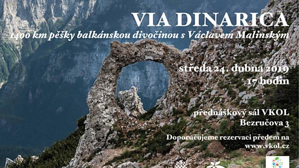Via Dinarica – 1400 km pěšky balkánskou divočinou