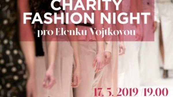 Charity fashion night – pro Elenku Vojtkovou