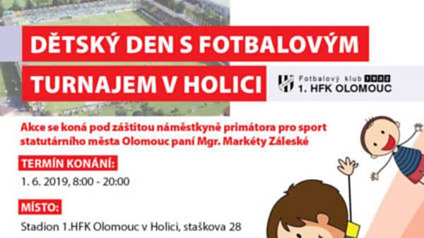 Dětský den s fotbalovým turnajem