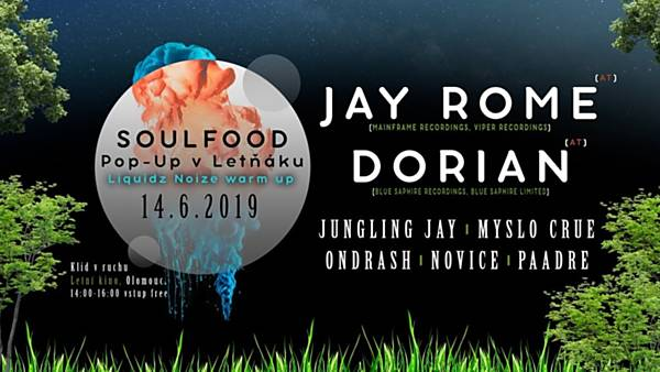 Soulfood Pop-Up w/Jay Rome, Dorian (AT) | Liquidz Noize Warm-Up