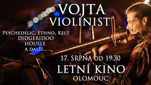 Vojta Violinist - Letní kino Olomouc