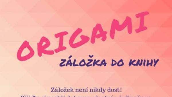 Origami záložky