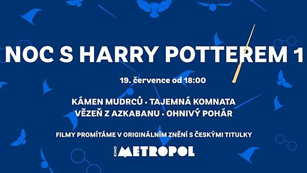 Noc s Harry Potterem 1