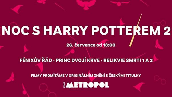 Noc s Harry Potterem 2
