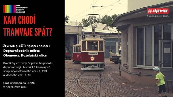 Kam chodí tramvaje spát?