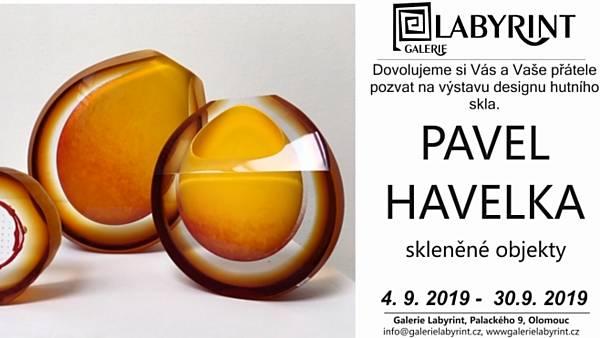 Pavel Havelka: skleněné objekty