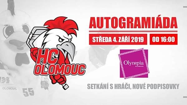 Autogramiáda HC Olomouc