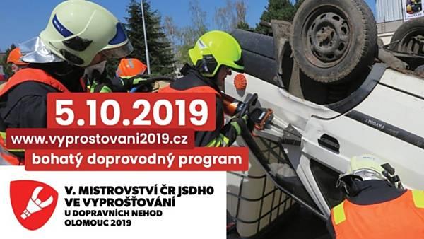 Mistrovství ČR JSDHO ve vyprošťování u dopravních nehod