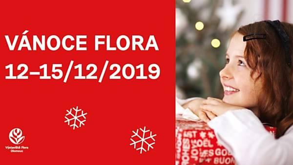 Vánoce Flora 2019