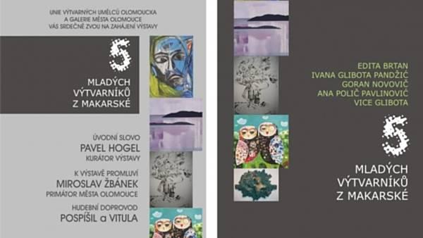 5 mladých výtvarníků z Makarské