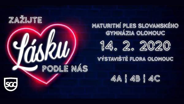 Maturitní ples Slovanského gymnázia