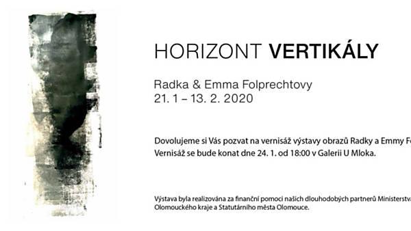 Radka & Emma Folprechtovy: Horizont Vertikály