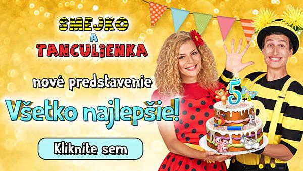 5. výročí Smejko a Tanculienka - přesunuto z 3.4.