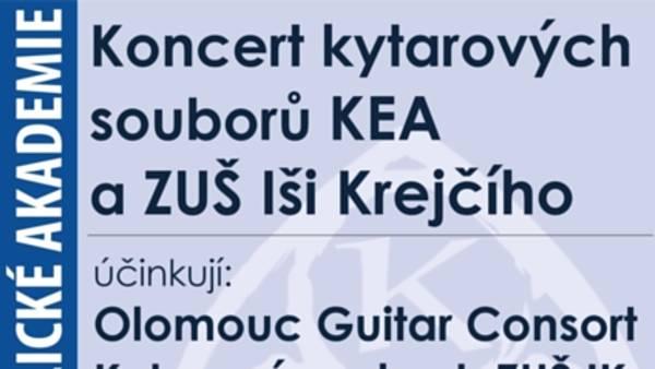 Koncert kytarových souborů Konzervatoře EA a ZUŠ Iši Krejčího